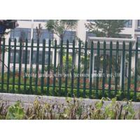 Wholesale Renewable Sources Metal Palisade Fencing For Renewable Sources And Stadiums from china suppliers