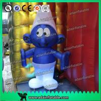 Wholesale 2M -20M Custom Oxford cloth Inflatable Smurfs With LED Light from china suppliers