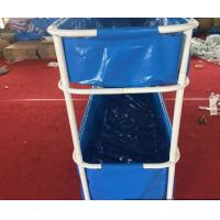 Wholesale Portable PVC Collapsible Fish Pond Double Tier 5000L - 20ºF ~ 158ºF Temperature Resistance from china suppliers