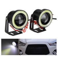 Wholesale Waterproof Auto Car LED Fog Lights With Lens Halo Angel Eyes Rings COB 30W 12V from china suppliers