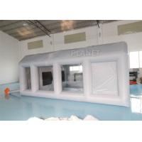 Wholesale Grey Moveable Inflatable Car Paint Spray Booth With Filter System 6x4x2.5m from china suppliers
