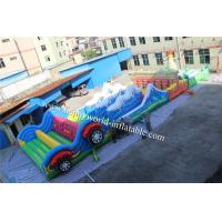 Quality adult inflatable obstacle course , boot camp inflatable obstacle course , for sale