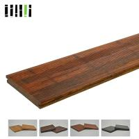 Wholesale High Density 1220kg/m³ Standard Size Solid Carbonized Strand Bamboo Flooring Easy Installation from china suppliers