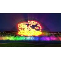 Large Amusement Park Water Screen Projection Stainless Steel 304 316 Material