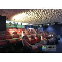 Quality Elegant Electric Dynamic 7D Cinema System In Entertainment Places for sale