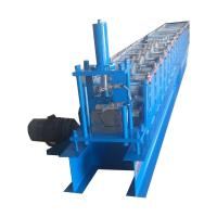 Quality 18 Rows roof Gutter roll forming machine With 5.5kw Frequency Converter for sale