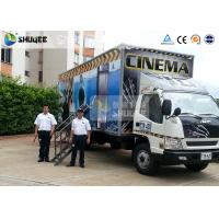 Truck Mobile 7D Movie Theater Motion Cinema Simulator With Wonderful Special Effect