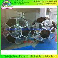 China 0.9mm PVC Giant Inflatable Water Ball Water Sphere   Water Walking Balls For  Adults on sale