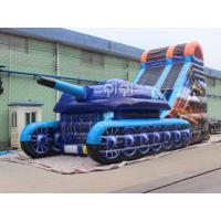 Wholesale Tank War Inflatable Slide from china suppliers