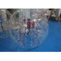 China Amazing Sport Fireproof Inflatable Bubble Ball Soccer For Team Games on sale
