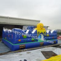 Quality Jungle themed inflatable obstacle course , inflatable playground balloon for sale