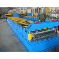 Wholesale Galvanized Metal Roof Panel Roll Forming Machine , Glazed Tile Roll Forming Machine from china suppliers