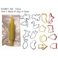 Wholesale Clay Tool Set, Educational Toys, Tool + Mold of Clay (N10801-AR) from china suppliers
