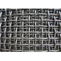 "Wholesale Woven Stainless Steel Crimped Wire Mesh 0.1-8"" Hole Size Customized Length from china suppliers"