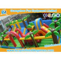 Giant Jungle Large Inflatable Games , Inflatable Bouncer Jumper For Amusement Park
