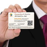Wholesale Eco - Friendly 3D Lenticular Business Cards Personal Card Printing Image from china suppliers
