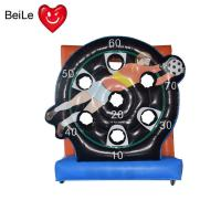 Buy cheap Commercial inflatable football goal target soccer shoot darts board game for from wholesalers