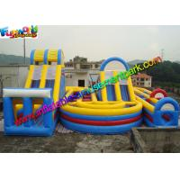 Wholesale Popular Sport Inflatables Obstacle Course , inflatable assault course With Playground from china suppliers