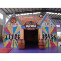 China Advertising PVC Tarpaulin 8X6m Inflatable Bubble Tent on sale