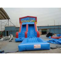 Wholesale Durable Inflatable Slip N Slide With Jump Blow Up Playhouse CE / EN14960 Certificate from china suppliers