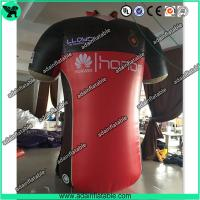 Wholesale Sports Cloth Promotion Advertising Inflatable T-shirt Cloth Replica Model from china suppliers