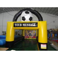 Wholesale Hot inflatable PVC football goal from china suppliers