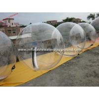 China Transparent Dia 2m Inflatable Water Walking Ball For Swimming Pool on sale