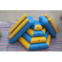 Wholesale Fireproof Material Double Inflatable Water Slide Airtight Tower Slide For Park from china suppliers