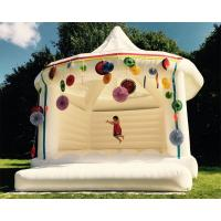 Wholesale Custom Made Carpa Hinchable Inflatable Party Tent White Bouncy Castle For Wedding from china suppliers