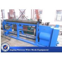 China Retaining Wall Wire Netting Machine , Gabion Box Machine Heavy Type 4.6T on sale