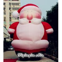 Wholesale 6m Height Giant Christmas Inflatable Santa Claus for Xmas Decoration from china suppliers