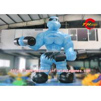 Wholesale Cartoon Inflatable Muscle Man For Advertising / Inflatable Cartoon For Exhibition from china suppliers