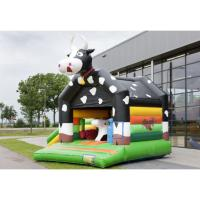 Wholesale Commercial Jumping Outdoor Bouncy Castle PVC Cloth Materials Fine Workmanship from china suppliers