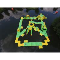 Wholesale Stable Inflatable Water Park  / Heat Resitance Blow Up Obstacle Course from china suppliers