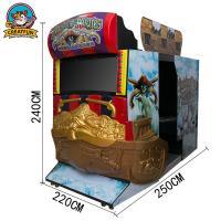 Quality Dead Storm Pirates Shooting Game Machine With Attractive Design for sale