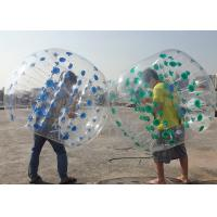 Wholesale PVC Or TPU Inflatable Bubble Soccer Balls Environmental Protection And High Stretch from china suppliers