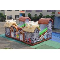 Wholesale PVC Inflatable Stone Age Fun City Full Painting / Classic Inflatable Safari Jump from china suppliers