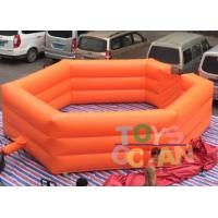 China Customized Color Inflatable Gaga Pit Balls Pool Kids PVC Inflatable Games on sale