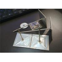 3mm Diameter Metal Insulation Stick Pins With Self Adhesive Base For Hvac System