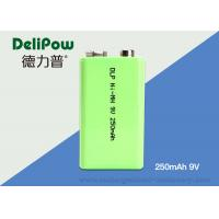 Wholesale 1.0V~9V NIMH Industrial Rechargeable Battery 250mAh With 3 Years Cycle Life from china suppliers