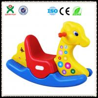 Wholesale Plastic Rocking Horse for Pre School Equipment QX-155K from china suppliers
