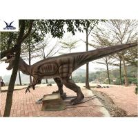 Buy cheap Giant Dilophosaurus Model Outdoor Dinosaur Statues , Dinosaur Yard Art from wholesalers