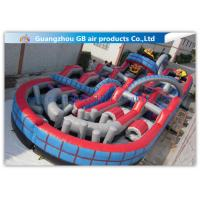 China Giant Inflatable Amusement Park With Large Roller Coaster for Activities Entertainment on sale