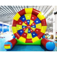 Wholesale Party Interactive Game Colorful Inflatable Football Goal For Backyard from china suppliers