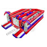 Wholesale Red Inflatable obstacle from china suppliers