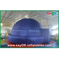 China 6M Educate Planetarium Dome Inflatable 360 Degree Watching Universe Teaching on sale