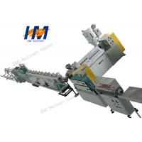 China Customized Color Plastic Profile Extrusion Machine For PS Foaming Mirror Picture Frame on sale