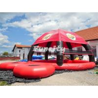 Wholesale Big Funny Camping Inflatable Igloo Tent With Water Pool / Water Trampoline from china suppliers