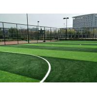 Wholesale Color Fastness Artificial Grass Offcuts , Outdoor Sports Artificial Football Turf from china suppliers