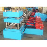 Wholesale 2 Waves Highway Guardrail Roll Forming Machine Gear Box Transmission High Speed from china suppliers